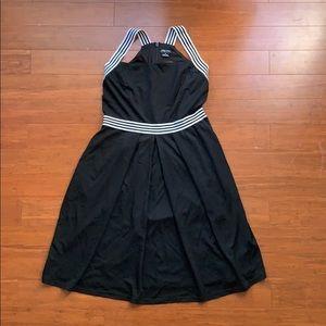 NWT City Chic Sail Stripe Dress XS/14